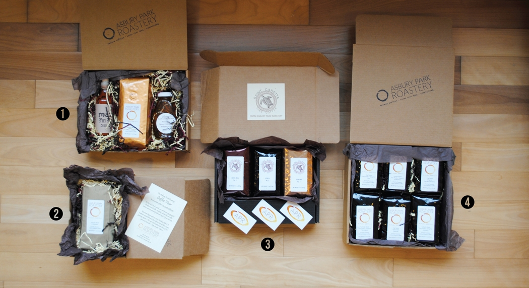 COFFEE AND TEA GIFT SETS from asbury park roastery ...